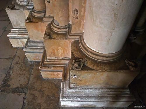 Base das colunas
