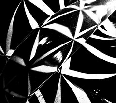~strange light thing near Bercy ~ truc de lumire trange prs de Bercy ~ (Janey Kay) Tags: nightphotography blackandwhite bw paris reflection blancoynegro square mono noiretblanc january nb reflet squareformat handheld sep bp schwarzweiss janvier spiegelung januar carr 2011 photographiedenuit passerellesimonedebeauvoir mainleve formatcarr blackandwhitesquares nikkor10mmfisheye janeykay blackandwhitesquare niksilverefexpro nikond300s strangelightthingsinatunnelataconstructionsitewithdrippingwatergrafittiandtrainspassingoverhead carrennoiretblanc