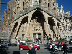 Antoni Gaudí, Sagrada Familia, Lower Facade of the Left Trancept