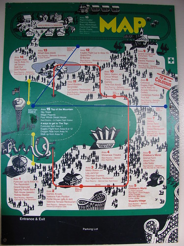 six flags magic mountain park map 2011. Six+flags+magic+mountain+