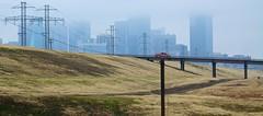 IMG_1918 (swarnendu) Tags: city trees usa cloud white black rain fog canon project river landscape photography eos dallas day cityscape texas trail rainy trinity distance sen levee 50d swarnendu
