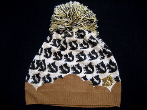 Adorable Knit hat from Tsumori Chisato