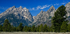 Tetons Cathedral (tvest) Tags: mountains nature canon cathedral geography wyoming geology tetons grandteton jacksonhole photoframe grandtetonnationalpark cascadecanyon teewinot mtowens