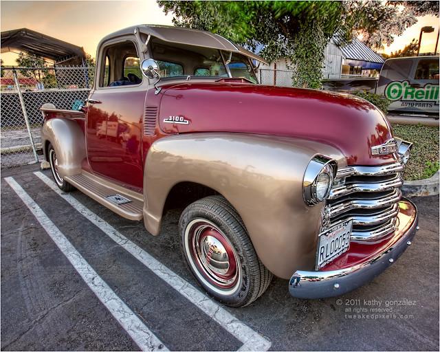 1953 chevy 3100 truck