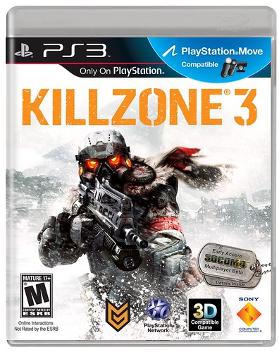 Killzone 3 with SOCOM 4 Multiplayer Beta