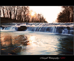 The waterfall - River Grana - NO HDR - San Pietro del Gallo - Cuneo - Italy (Margall photography) Tags: winter italy sun water del canon river photography gallo waterfall san long italia fiume sigma exposition marco rays sole acqua inverno cuneo 190 manfrotto raggi pietro lunga esposizione 30d grana galletto margall xprob