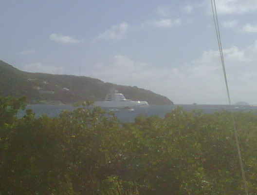 A in Road Harbour, BVI