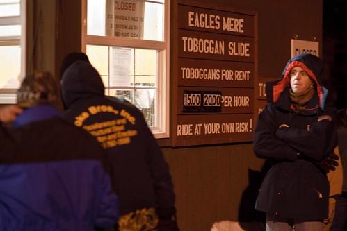 Eagles Mere Toboggan Slide-1178