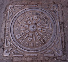 Marrakesch * Ville de Marrakech (CatrinR) Tags: morocco maroc manholecover marokko kanaldeckel gully marrakesch gullydeckel