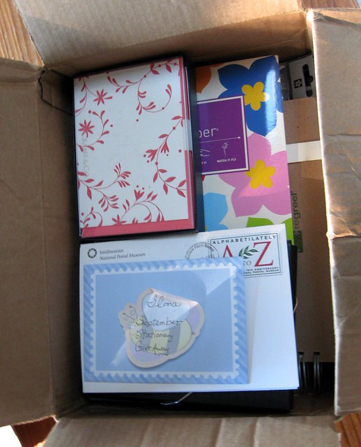 Letters & Journals September giveaway goodies
