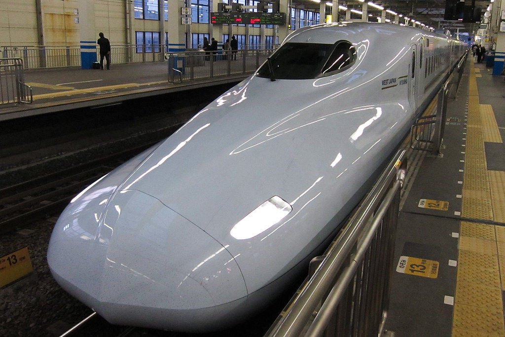 New Shinkansen N700-7000 Series (test run)