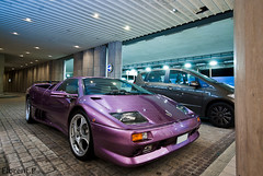 Lamborghini Diablo VT Roadster (Lambo8) Tags: horse fish france eye photo hp nikon power purple 10 d sigma s ferrari monaco mc porsche enzo diablo af 20 gt nikkor 1020mm bugatti 1020 lamborghini vt ch carrera veyron roadster violette afd d80 worldcars mongasque
