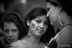 Roms people 15 (blazouf) Tags: portrait blackandwhite bw white black face blackwhite noiretblanc gypsy rom gypsies visage blazouf noirblanc blackandwhiteportrait outdoorportrait naturallightportrait navitarcmount75mm14