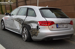 Verkehrsunfall A66 Diedenbergen 14.05.11