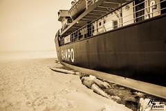 Sampo Icebreaker - Kemi 13.02.2014 (Andrea  Perotti) Tags: sea ice finland gulf portfolio mybest golfo finlandia icebreaker sampo kemi botnia bothnia