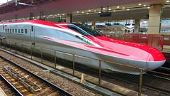 Tokyo Metropolis - Japan (Mic V.) Tags: station japan train tokyo gare railway jr series metropolis railways e6 shinkansen japon