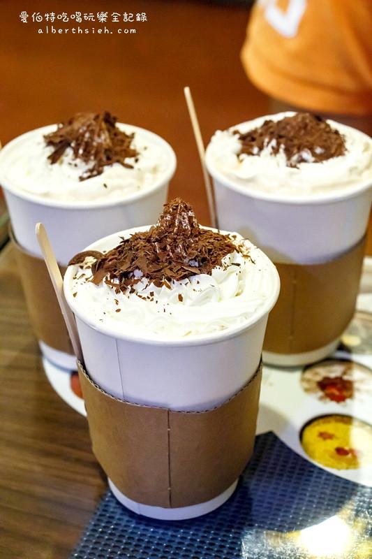 哈哇伊蛋糕花園:熱維也納鮮奶茶