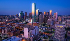 Dallas Skyline from the Reunion Tower. (djgreddy00) Tags: nightphotography cityscape reuniontower dallasskyline dallas zeiss1635 zeiss sonya7ii sonyalphalovers sonyalpha sonyimages sony