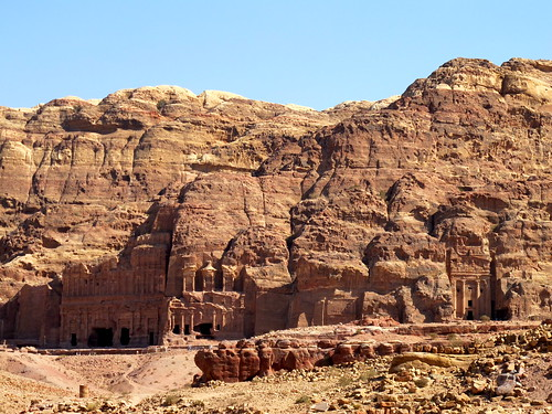 Petra on a hill