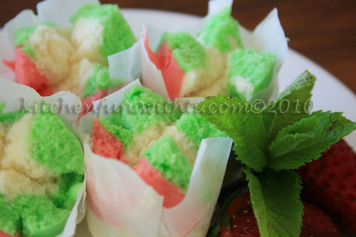 Resep Cake Gulung Kukus Mini: COMMENTS RESEP RAINBOW ROLL CAKE ENAK