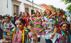 Mexické zastavení 7Oaxaca, město yaa a saa.