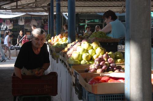 Mercado de Elbasan, Albania