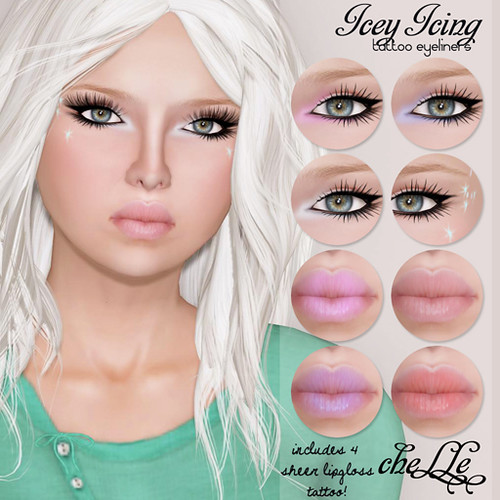 cheLLe - Icey Icing (eyeliners)