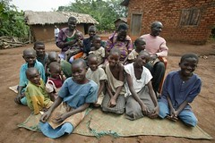 Typical Village Family (dreamofachild) Tags: poverty children village african poor orphan orphanage uganda humanitarian villagers eastafrica pader ugandan northernuganda kitgum humanitarianaid aidsorphans waraffected childcharity lminews