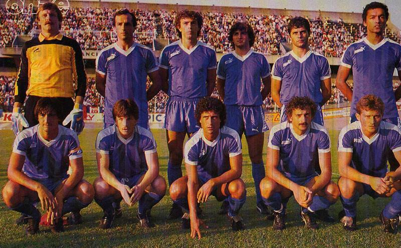 Bastia 1985-86