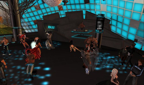 dance floor at blu dancebar