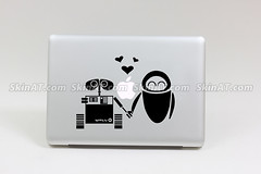 Wall E's Lover Macbook laptop decal sticker skin vinyl