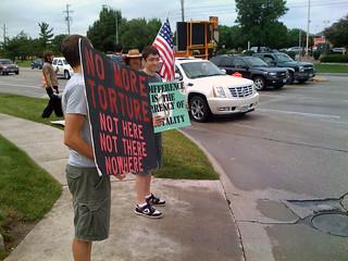 Anti-Torture Vigil - Week 17