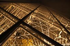 Paris (Kathy~) Tags: november paris france detail building fall night louvre below fc herowinner