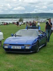 Venturi Coupé 260 (kity54) Tags: auto old blue cars car de automobile lac voiture panasonic bleu coche older dmc bleue ancienne venturi автомобиль véhicule madine voituresanciennes worldcars tz5 rétromeuse