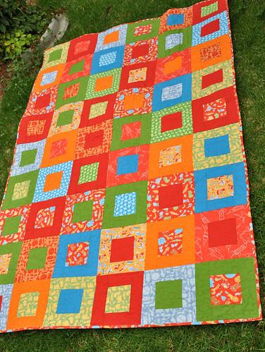Jacob's quilt - front