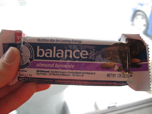 Balance Almond Brownie bar