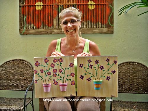 curso de pintura em tela