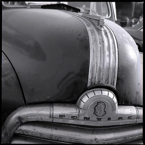 Pontiac - Oldtimer-Treffen Iserlohn. Hasselblad 500CM, C-Planar 80/2,8