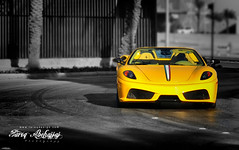 Ferrari 16M Scuderia Spider  | 499 of 499 [Explored] (Tareq Abuhajjaj | Photography & Design) Tags: light red sky bw orange moon white black green cars car sport yellow night race speed dark photography lights design spider photo big high nice nikon flickr italia nissan power top wheels fast gear ferrari turbo saudi arabia manual carbon fiber rims riyadh scuderia v8  2010 499 ksa  070 tareq  16m    alreem     d700      foilacar tareqdesigncom tareqmoon tareqdesign  abuhajjaj