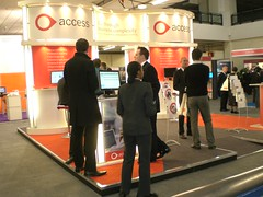 Access exhibiting at Softworld 2009