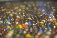 Gone Marbles (QUOI Media) Tags: color colour ball globe colorful many crowd sparkle round multiple marbles assortment masses glisten