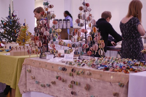 My table at the Martha Stewart Holiday Craft Sale
