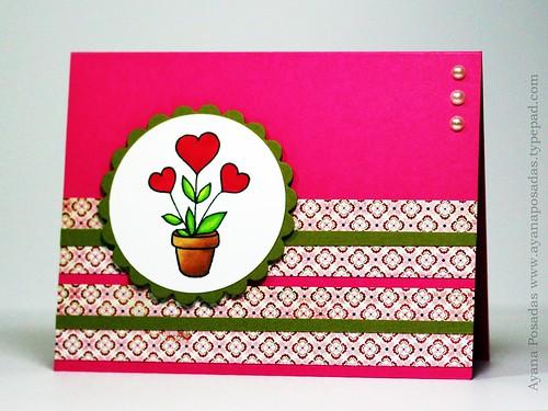 Flower Pot Hearts