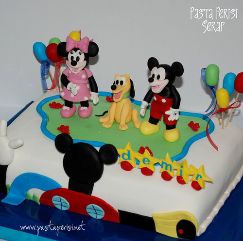 DEMİR MİCKEY MOUSE BIRTHDAY CAKE - mickey