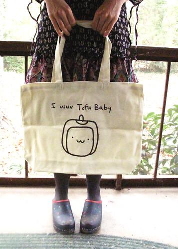 Tofu Baby Tote Bag 0076