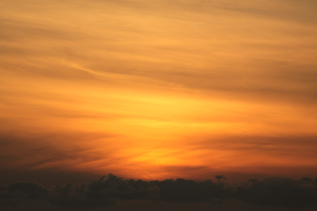 Sunset over Awaji