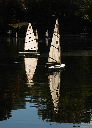 Model Boats on Conservatory Water