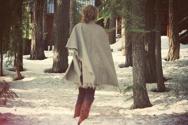 Snow Poncho