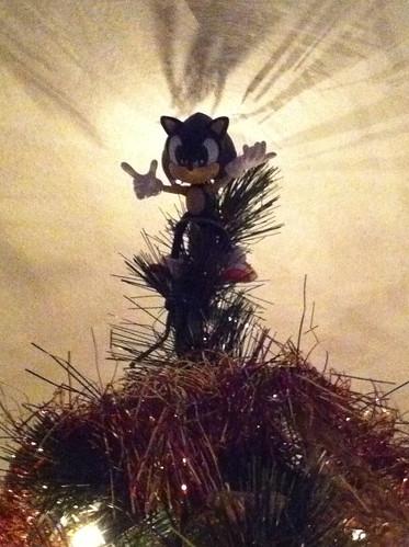Sonic Tree Topper