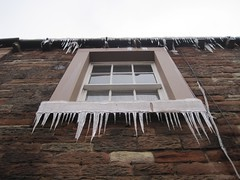The sword of Damocles (ambo333) Tags: uk england snow ice window frozen frost freeze cumbria icicle icicles brampton damocles uksnow theswordofdamocles frozenbritain bramptonweather bramptonweatherphotos
